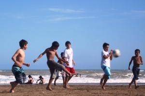 Fútbol de playa